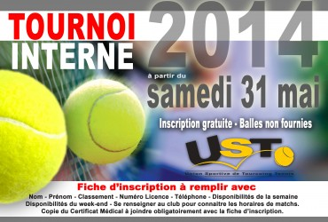 Tournoi interne 2014